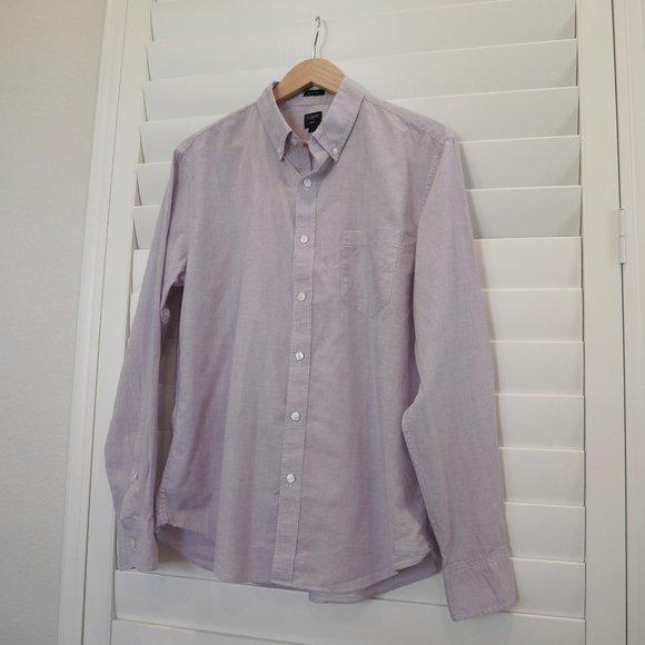J. Crew Men's Lavender Shirt